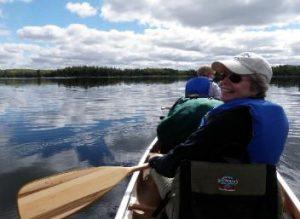 all-women bwca canoe trip