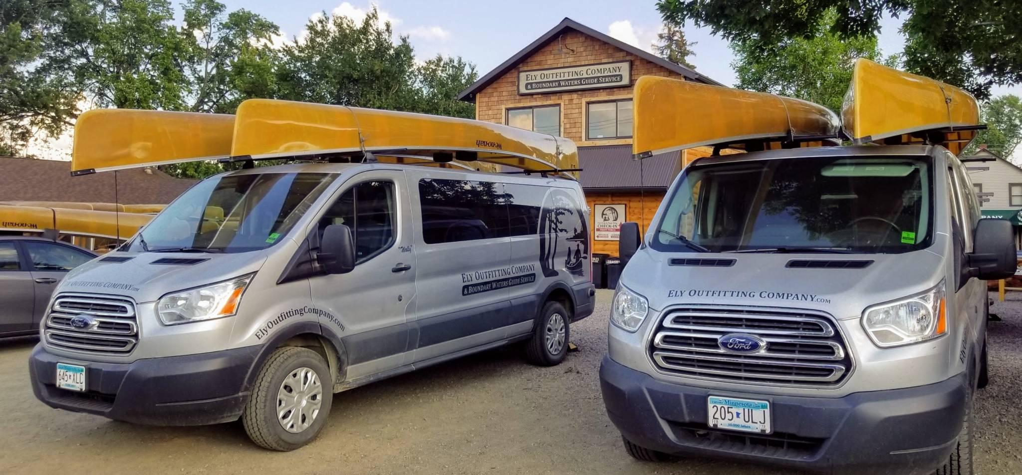 Ely MN Canoe Shuttle Service