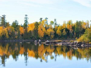 fall boundary waters trip